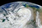 NASA image of Hurricane Sandy.
