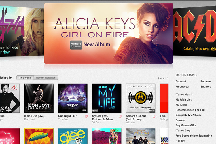 New iTunes Store introduced in iTunes 11