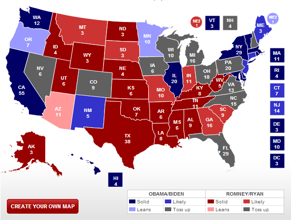 Real Clear Politics Presidential Election