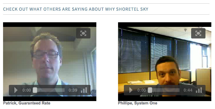 Shore Tel Sky Videos