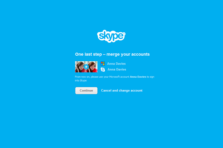 Merge Windows Live Messenger contacts with Skype