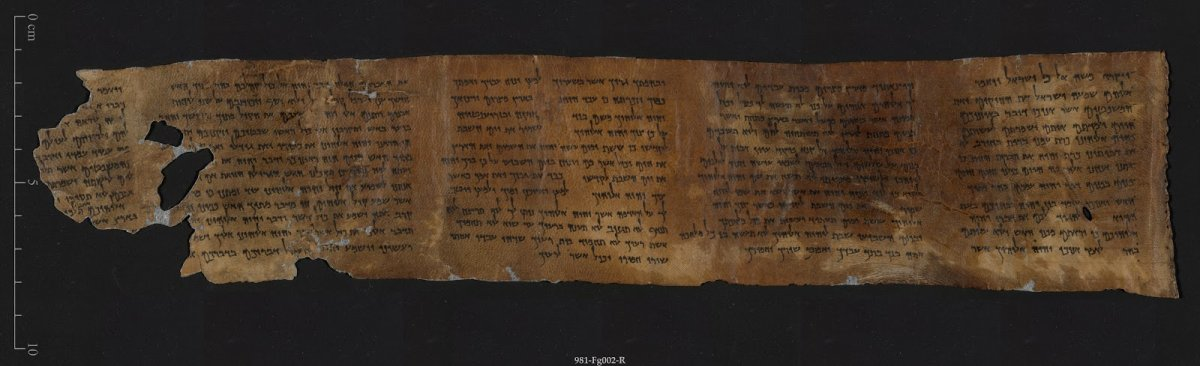 Dead Sea Scrolls - 10 Commandments