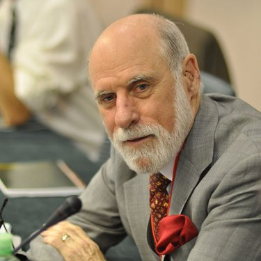 Father of the Internet Vint Cerf
