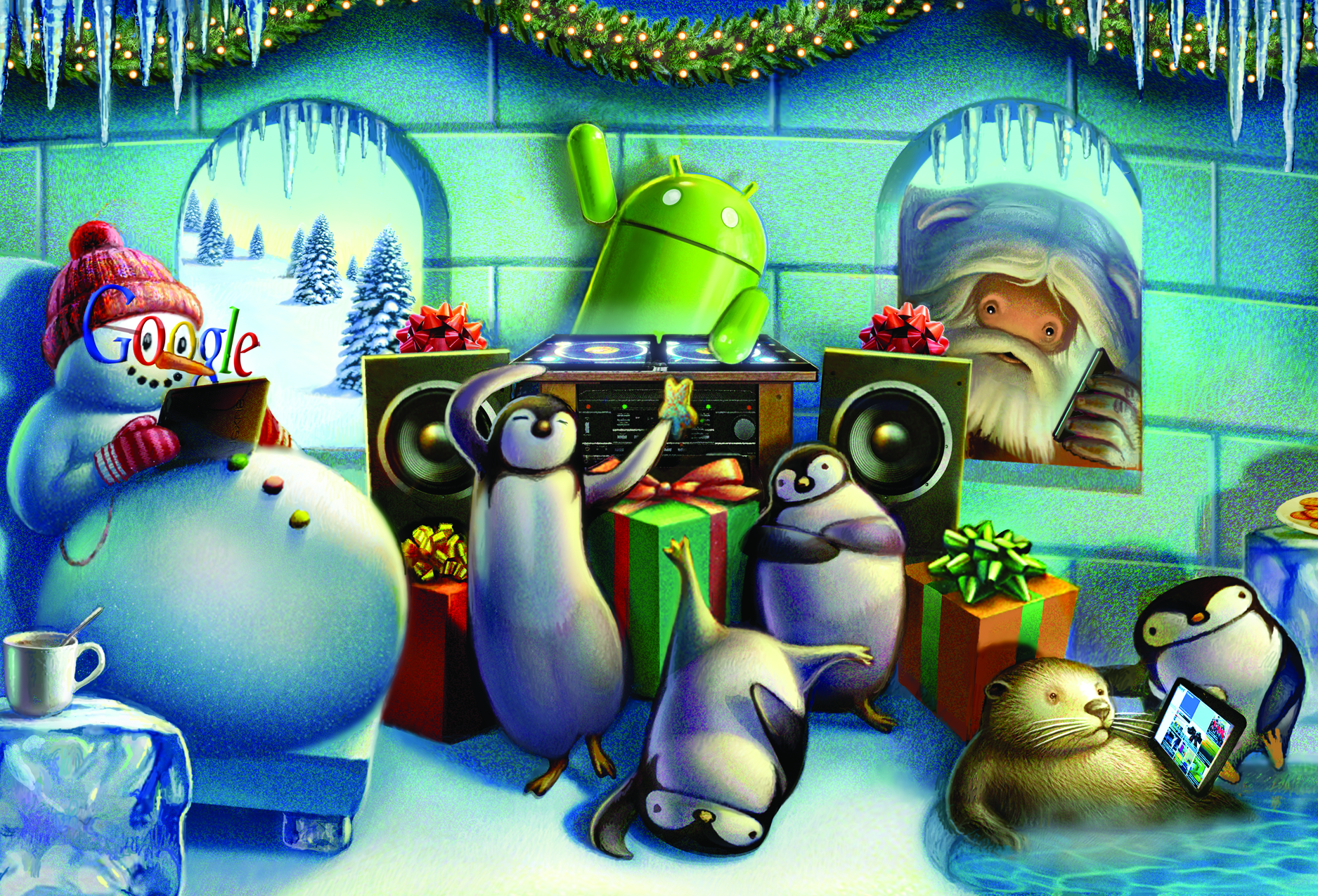 Google Android Nexus Christmas