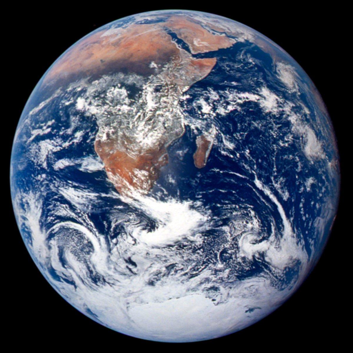NASA's original 1972 Blue Marble photograph. Credit: NASA