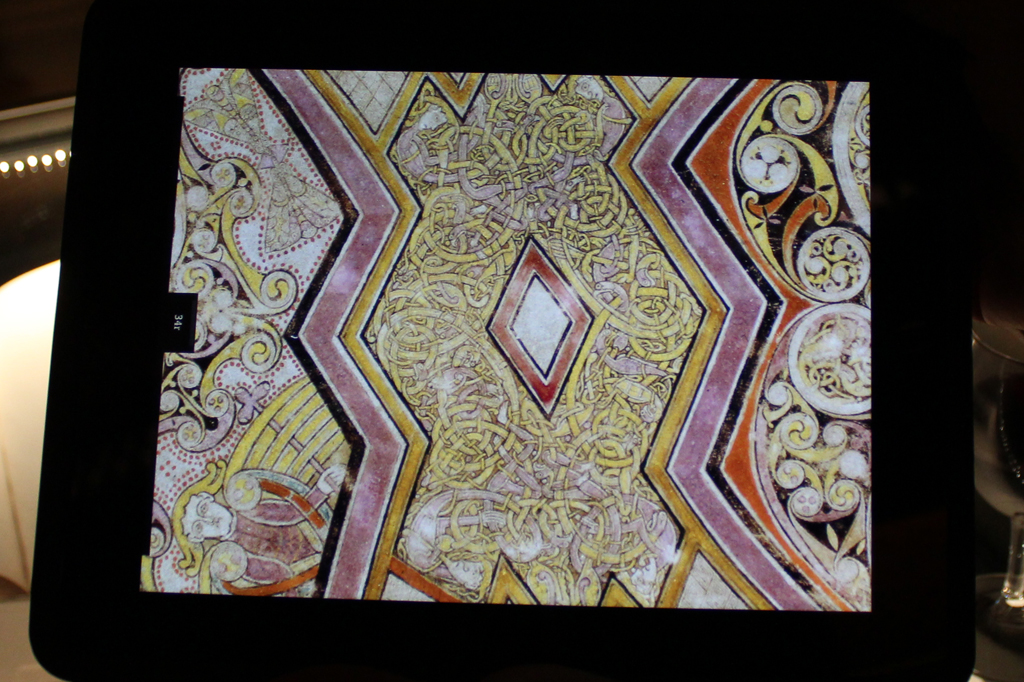 Book of Kells app launch detail