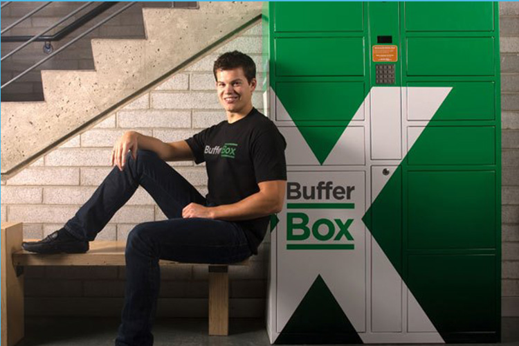 BufferBox founder Mike McCauley