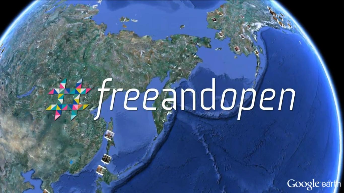 Google #freeandopen