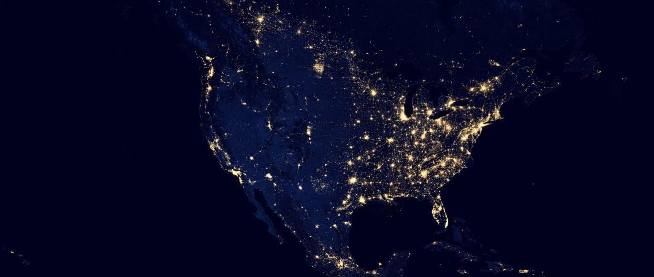 Google Maps NASA's Black Marble