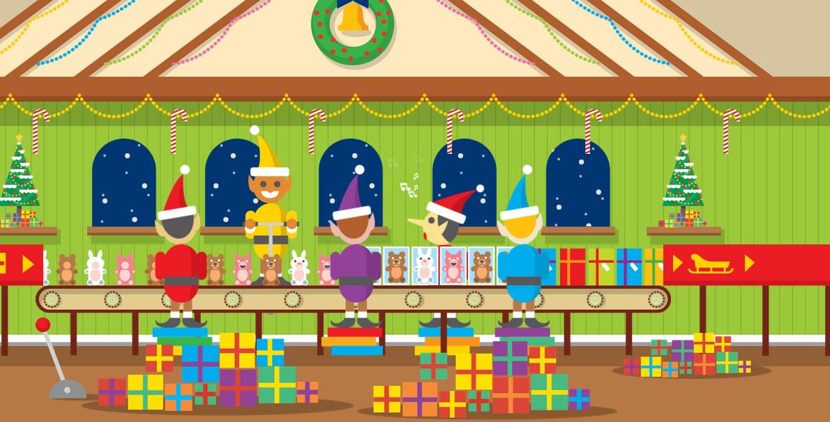 Google Santa's Factory