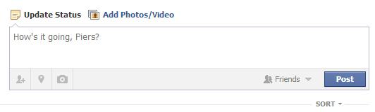 Facebook - How's it going