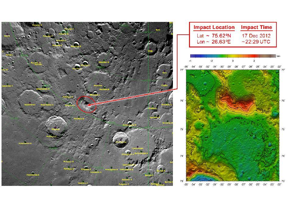 NASA satellites Ebb and Flow crash into the moon
