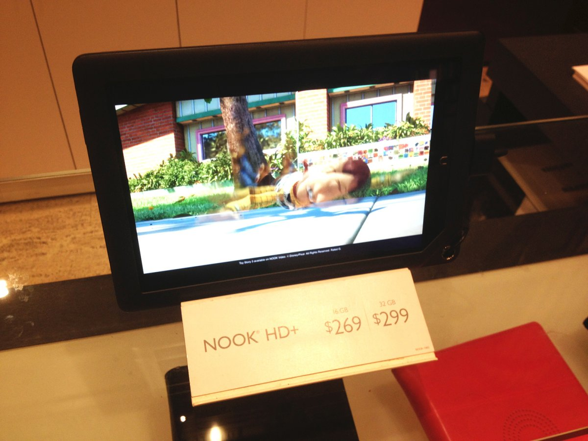Barnes & Noble Nook HD+ Android-powered tablet