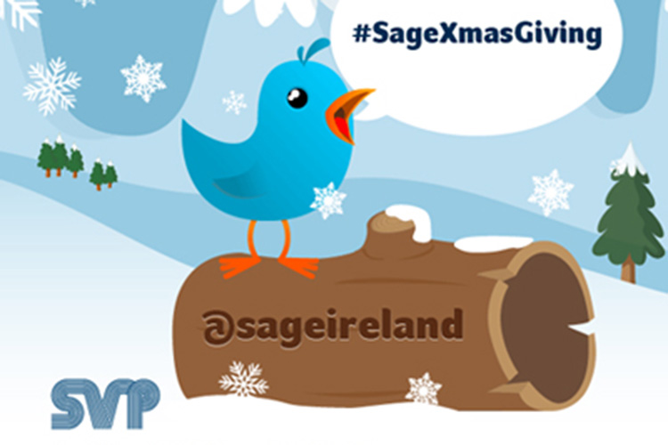 Sage Ireland St. Vincent de Paul charity