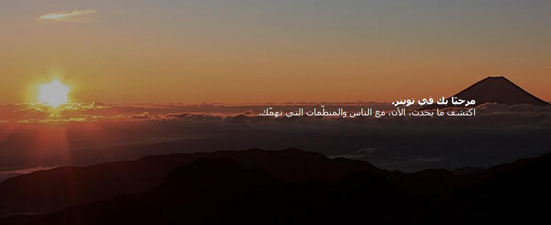 Twitter in Arabic