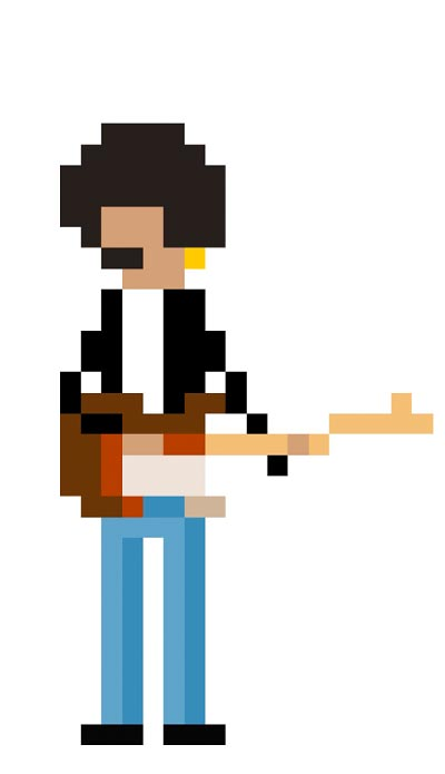 Phil Lynott 8 bit