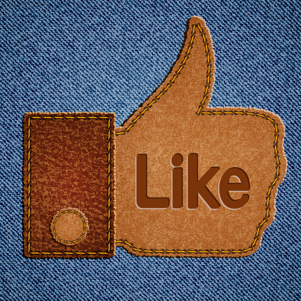 Facebook Like illustration