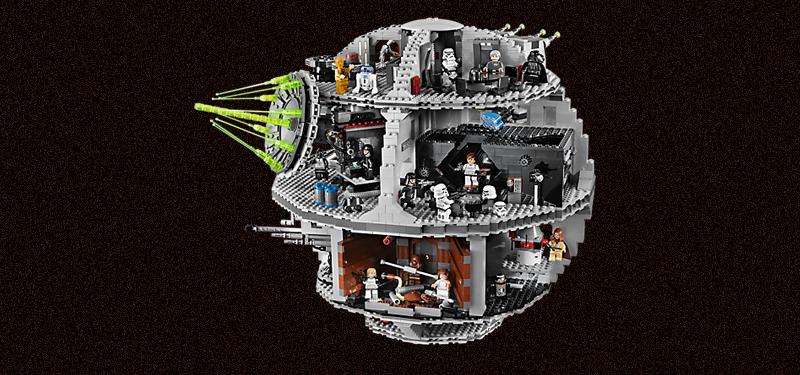 Lego Death Star. Credit:Lego