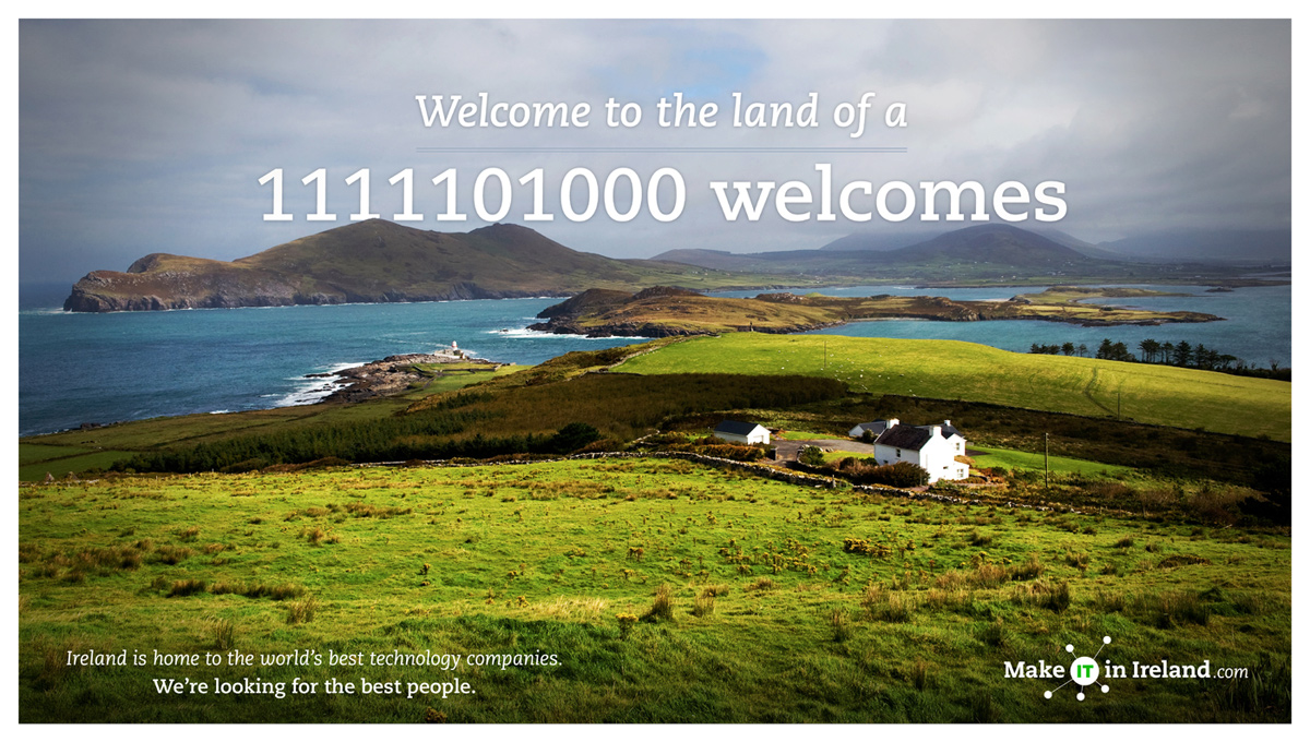 Make IT in Ireland - welcomes