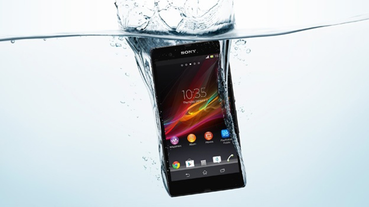 The Xperia Z, Sony's new high-end smartphone