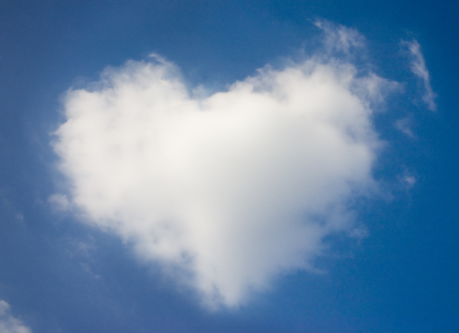 Valentine's Day cloud image