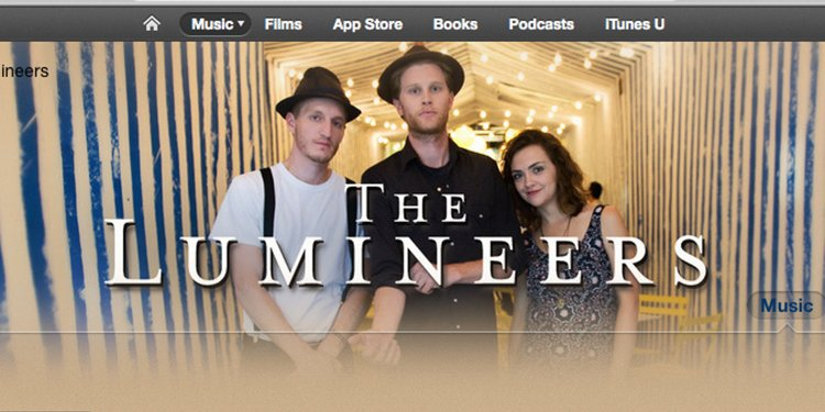 The Lumineers on iTunes