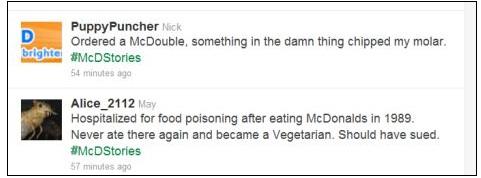 McDonalds Twitter fail