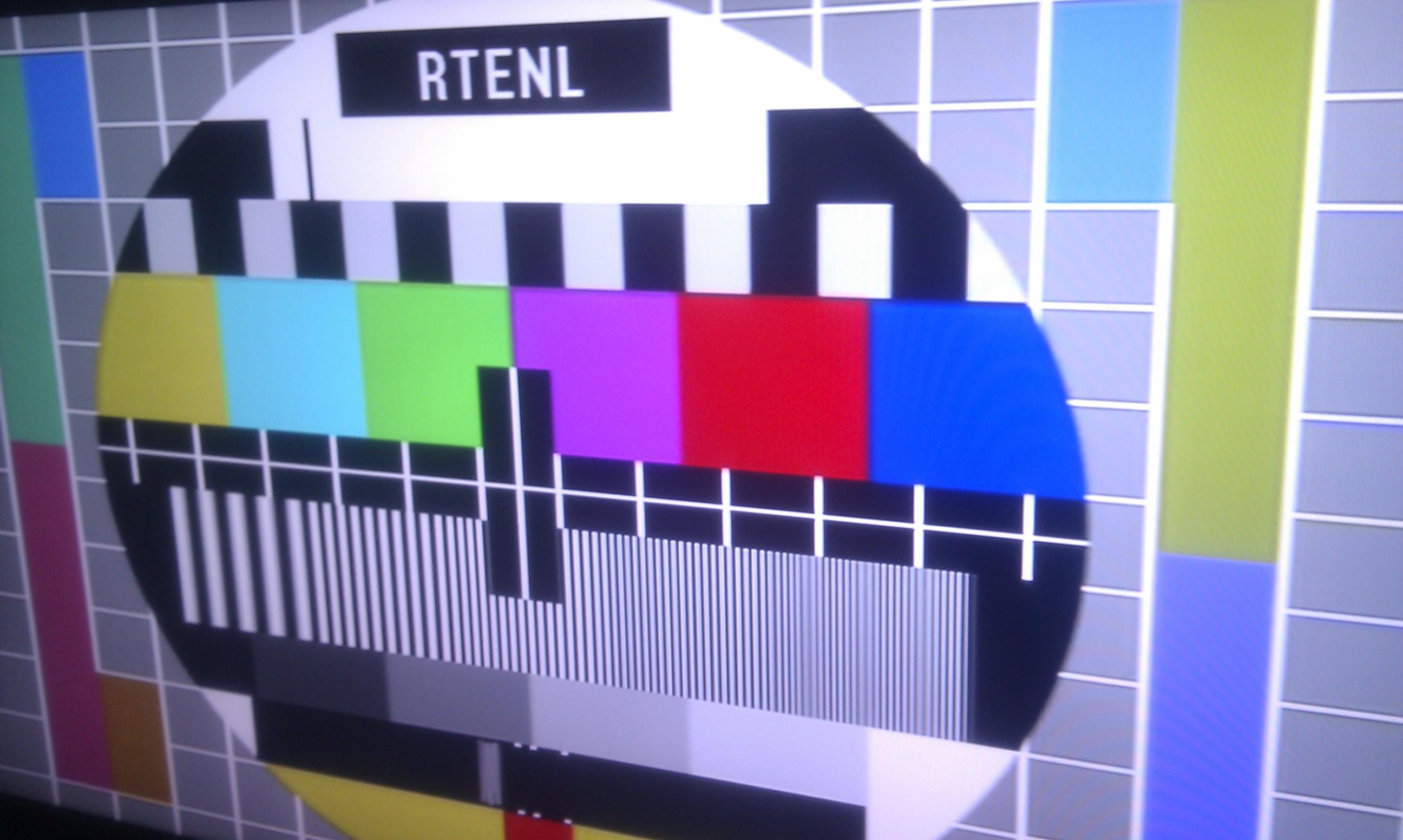 Digital TV test card