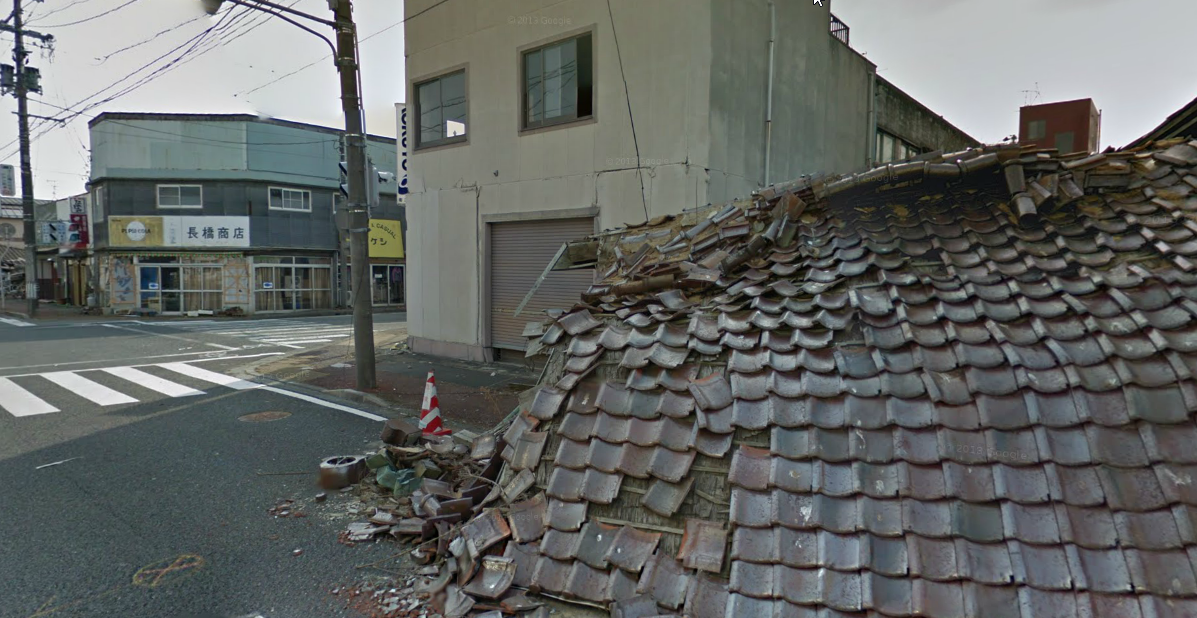 Google Street View documents Fukushima's abandoned cities