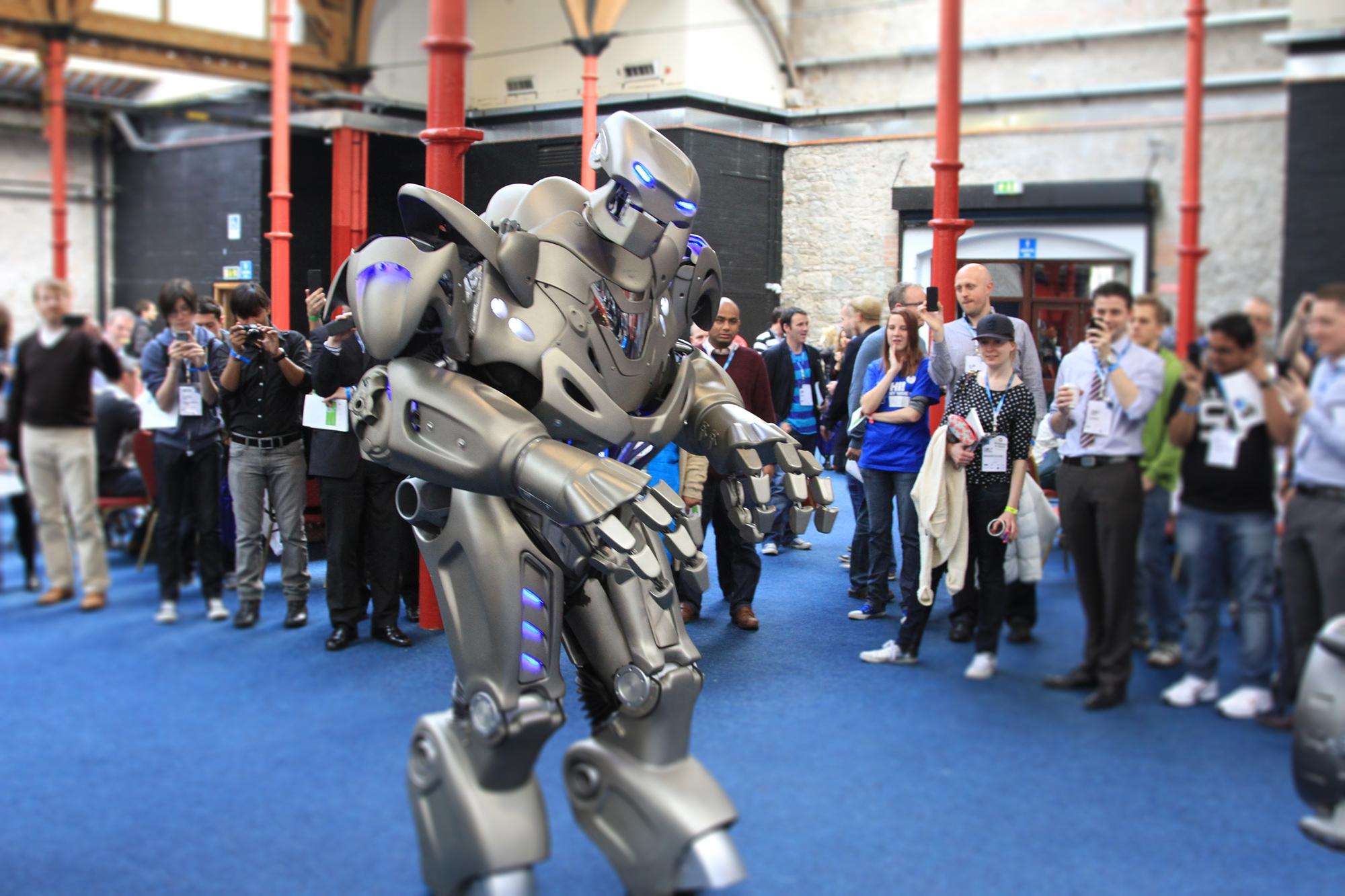 Robot at Dublin Web Summit