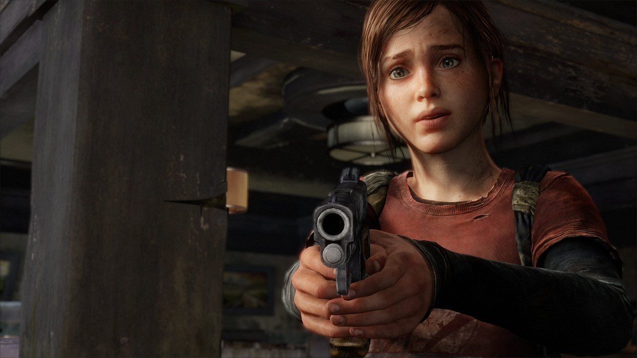 Ellie - The Last of Us PS3 game