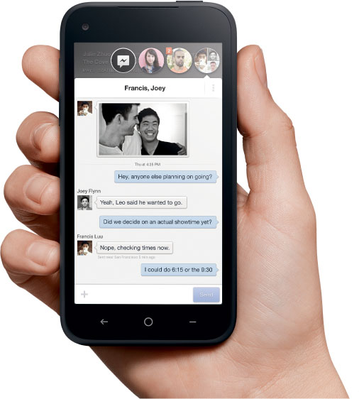 Facebook Home Chat Heads