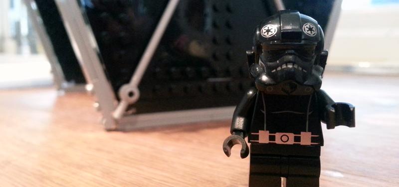 Star Wars Lego Tie Fighter