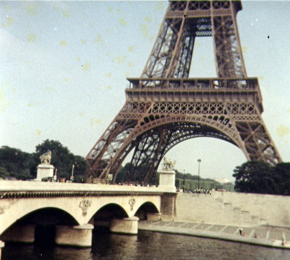 Eiffel Tower in 1971
