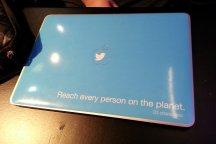 Twitter laptop