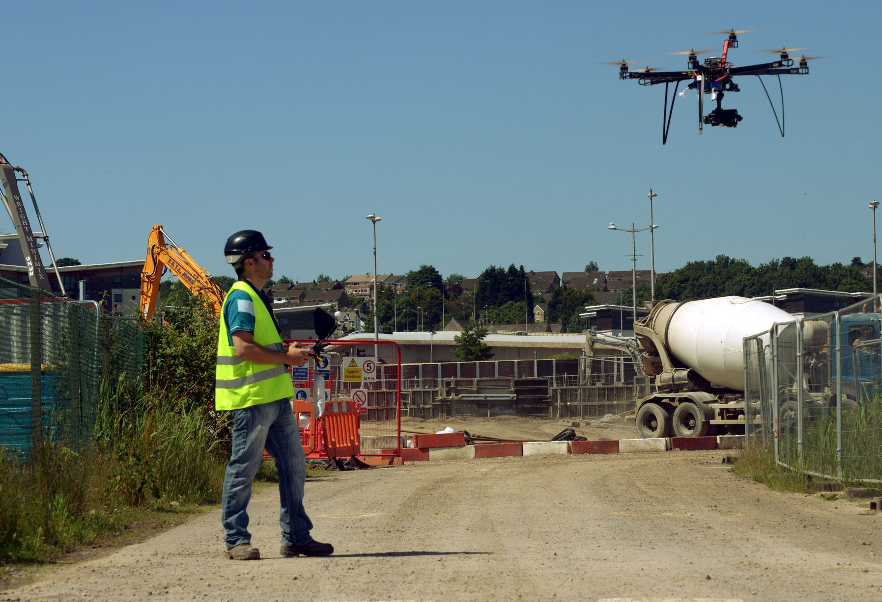 Could Drones Save 100s of Construction Workers? - The Sociable