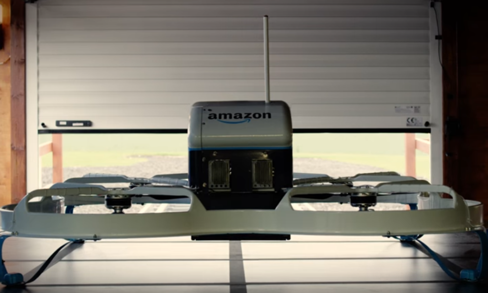 Amazon Wins Patent For Mothership To Launch Delivery Drones From The Sky