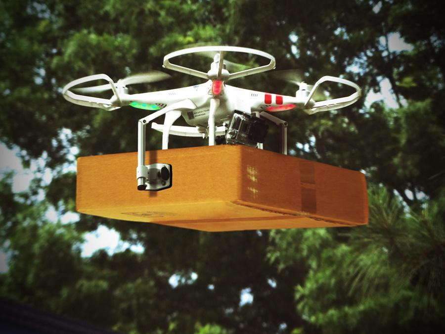 drones deliver