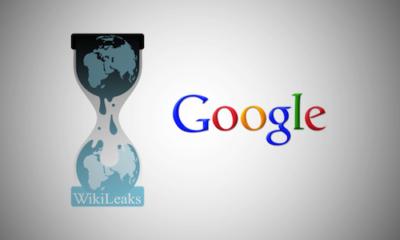 wikileaks google