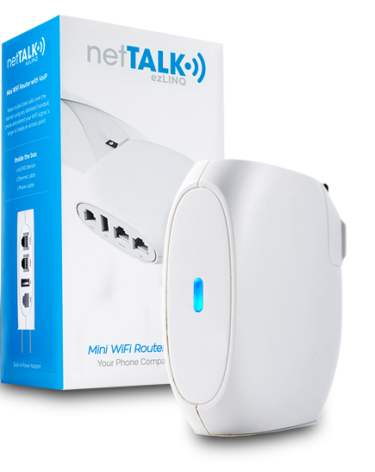 how to set up nettalk duo wifi