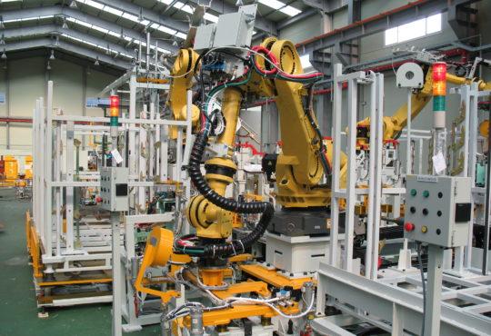 robot job shops