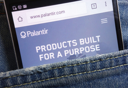 united airlines palantir
