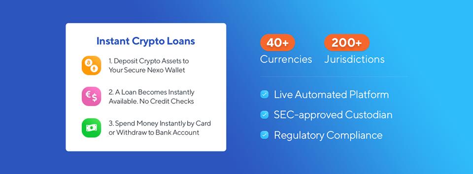 nexo crypto-backed loan