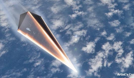 DARPA hypersonic craft