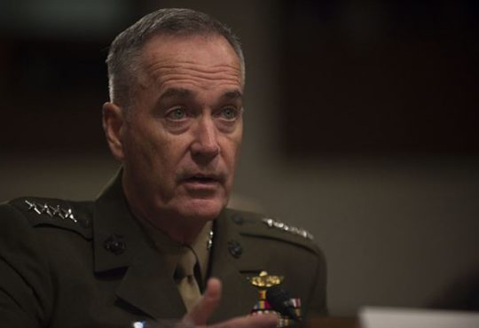 General Joe Dunford, Joint Chiefs of Staff Chairman