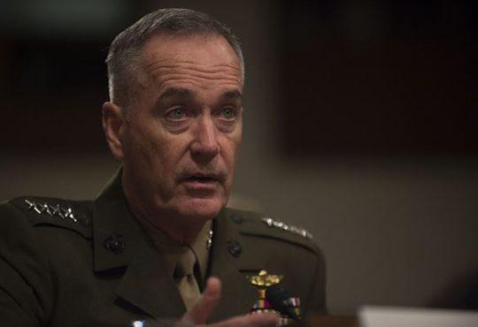 General Joe Dunford, Joint Chiefs of Staff Chairman
