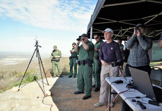 invasive tech border security