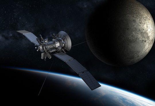 ai derelict satellite graveyard orbit