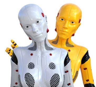robot, cyborg, humanoid