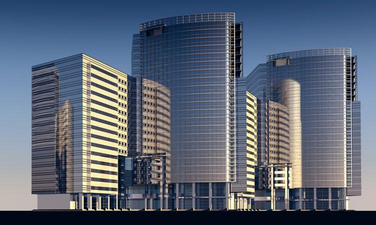 real estate, skyscrapers,